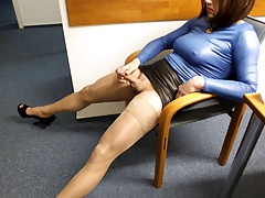 Nylon Jizm Stockings Hannover