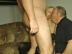 Cheating internal cumshot