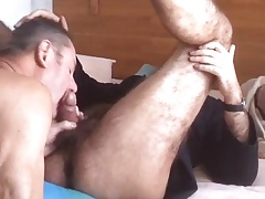 Str8 daddies blow-job