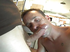 Super-steamy facial in..