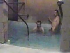 Hidden cam - More  in the pool