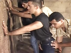 policemen asslicking 2 boys