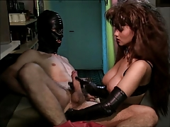 Female dom Knuckle Hand job