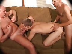 2 old DADS nude Poke play..